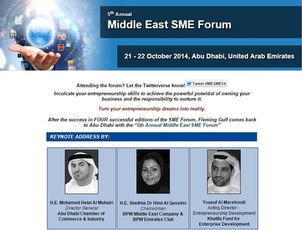 5th Annual Middle East SME Forum 21 oct 2014