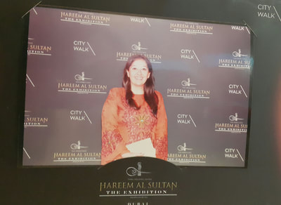 Banu Akbez at Hareem Al Sultan Red Carpet at City Walk, Dubai